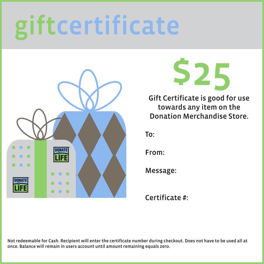 donation merchandise virtual gift card. Black Bedroom Furniture Sets. Home Design Ideas