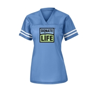 Picture of Donate Life Jersey -  Ladies' Blue