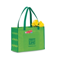 Picture of Chevron Non Woven Shopper Tote