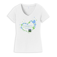 Picture of Heart V-Neck T-Shirt