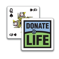 Picture of Donate Life Playing Cards
