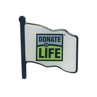 Picture of Donate Life Flag Lapel Pin