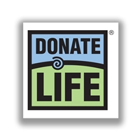 Picture of Donate Life Window Cling