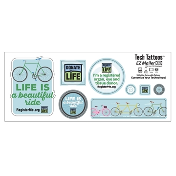 Picture of Life is a Beautiful Ride Decal Sticker Sheet