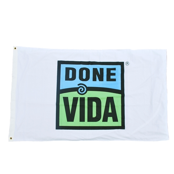Picture of 3' x 5' Done Vida Flag