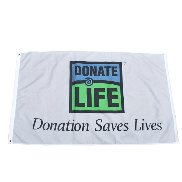 Picture of 3' x 5' Donation Saves Flag
