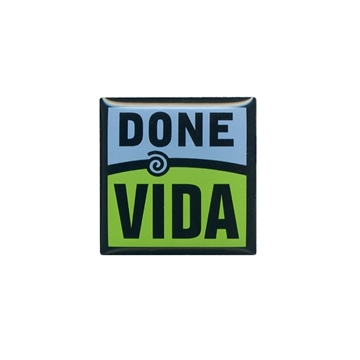 Picture of Done Vida Lapel Pin