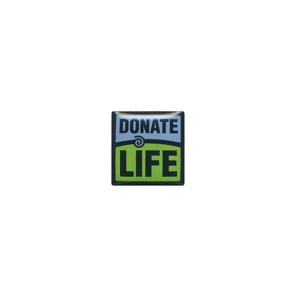 "Picture of Donate Life 1/2"" Lapel Pin"