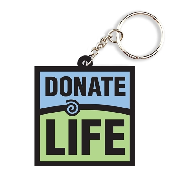 Picture of Donate Life Keychain