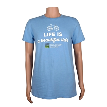 Picture of Life is a Beautiful Ride  T-shirt - Adult
