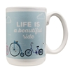 Picture of Life is a Beautiful Ride - Ceramic Mug