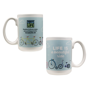 Picture of Life is a Beautiful Ride - Ceramic Mug - 2 for the Price of 1