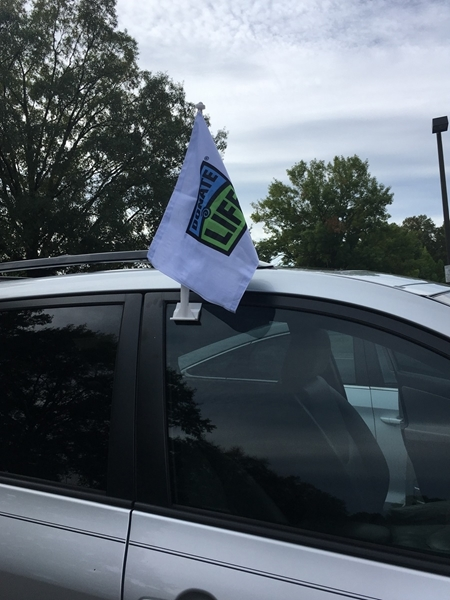 Picture of Donate Life Car Flag