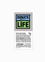 Picture of Donate Life Temporary Tattoo- 10/pack