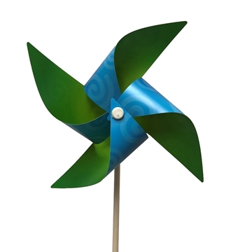 Picture of Blue and Green Pinwheel-Set of 10
