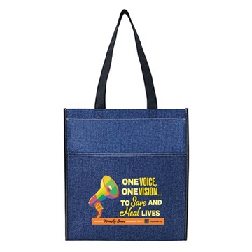 Picture of National Minority Donor Awareness Month Reusable Tote Bag