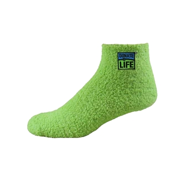 Picture of Donate Life Fuzzy Socks