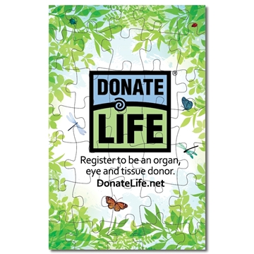 Picture of National Donate Life Month 2021 11x17 Puzzle