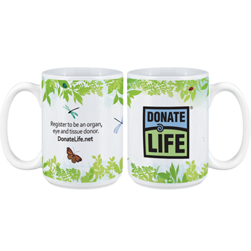 Picture of National Donate Life Month 2021 15 oz. Mug