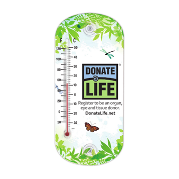 Picture of National Donate Life Month 2021 Window Thermometer