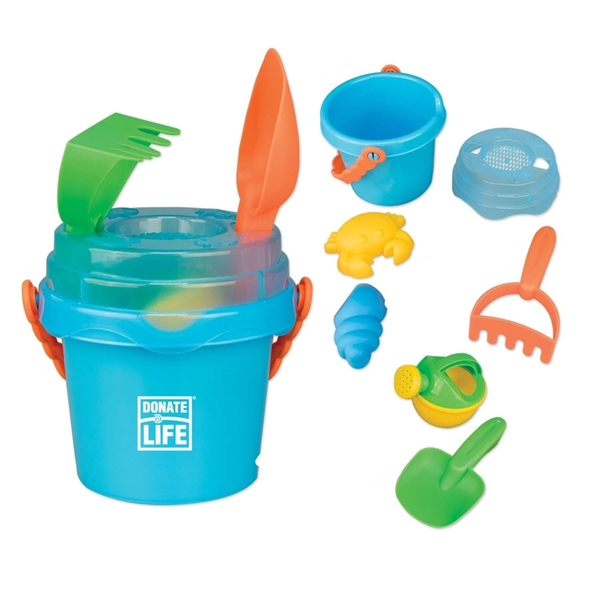 Picture of Mini Sand Pail with Toys